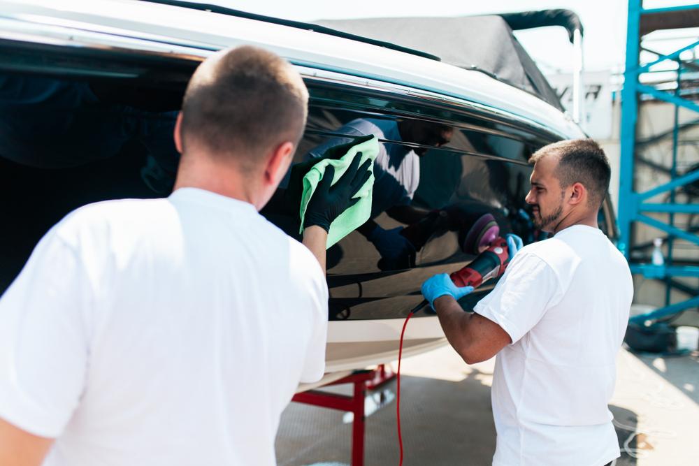 schilderen en onderhoudskosten boot