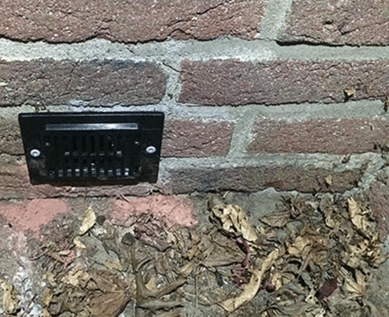 kruipruimte ventilatie