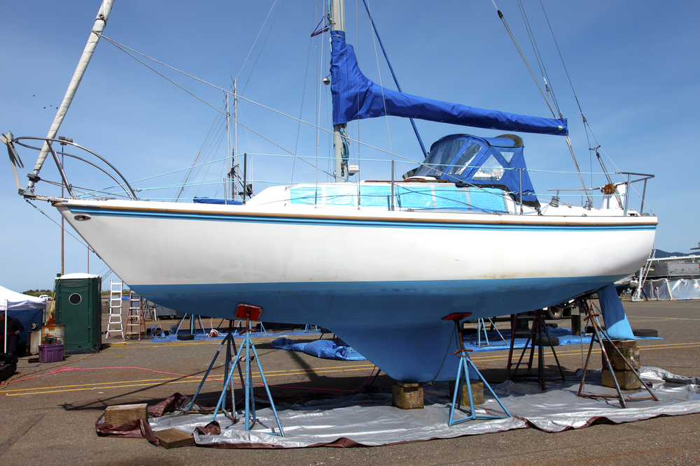 onderhoudskosten van een zeilboot