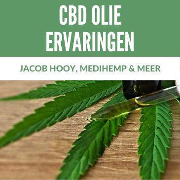 CBD Olie Ervaringen: Jacob Hooy, Medihemp & Meer!