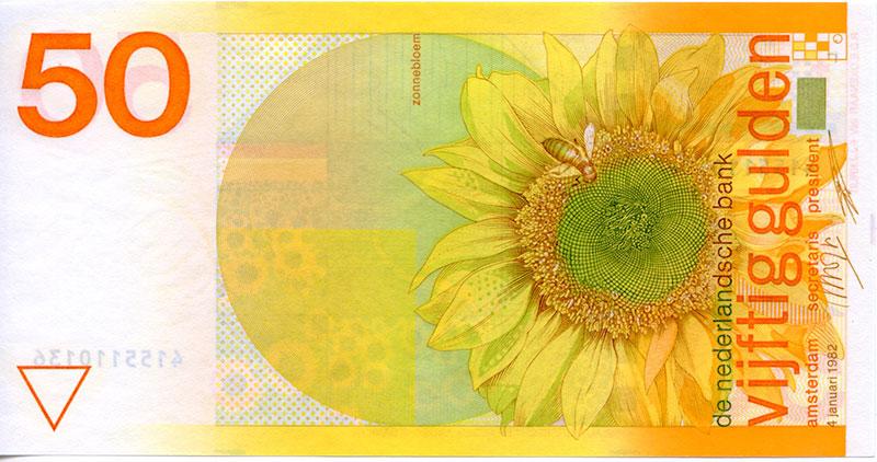 zonnebloem geld