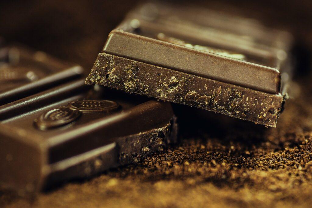 Chocolade allergie keel
