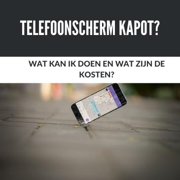 Telefoonscherm kapot: Alle reparatiekosten op een rij.