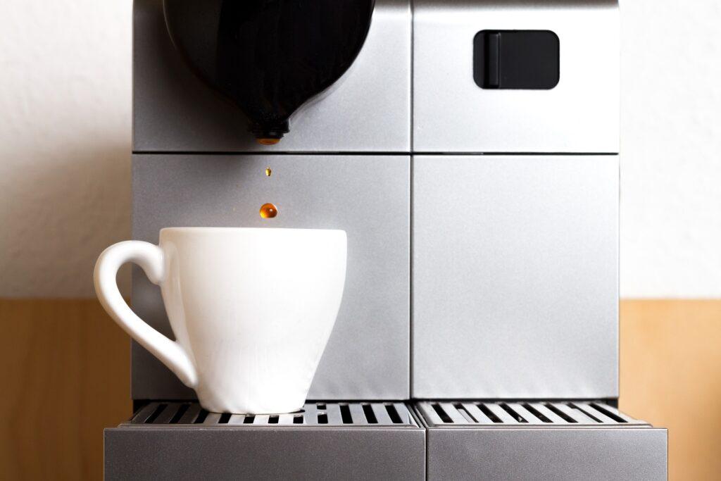 Koffiezetapparaat lekt water
