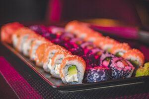 sushi bewaren in de koelkast