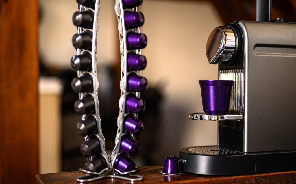 Nespresso magimix lekt water onderkant