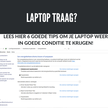 Laptop traag