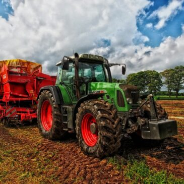 Techniek in de landbouw!