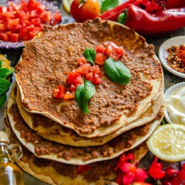 Calorieën in een Turkse pizza
